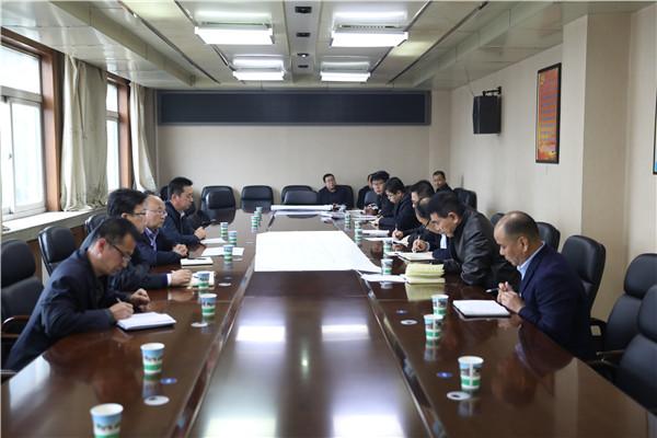 公司副总经理雷铁山到玉华矿调研指导安全生产工作