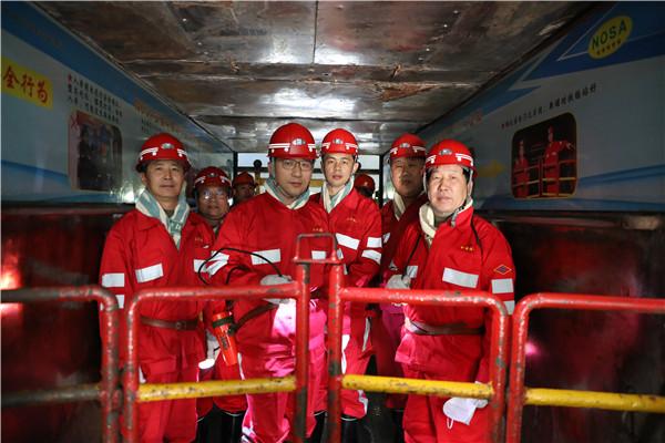 国家发改委到玉华矿调研煤矿安全改造专项投资实施情况