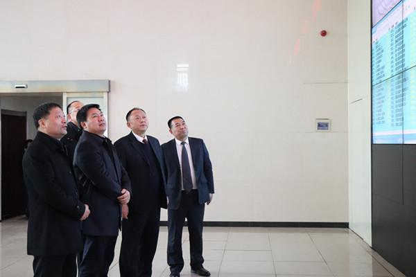 铜川市副市长姜学武深入陈家山煤矿调研指导工作