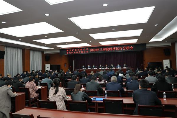 公司召开2020年三季度经济运行分析会