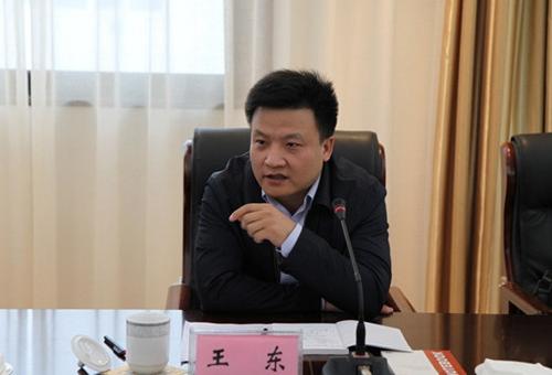 省能源局副局长王东讲话