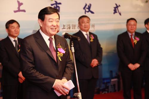 陕西省副省长李金柱致辞