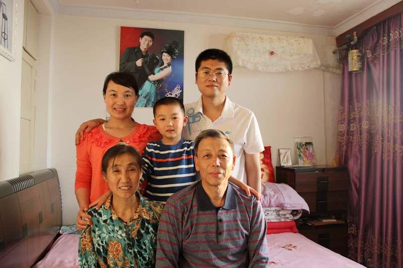 云飛和家人的照片