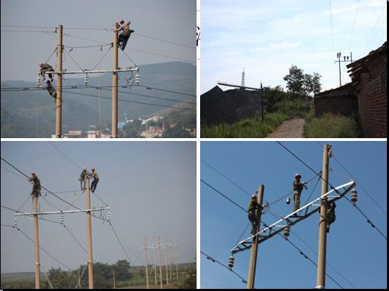 供用电分公司顺利完成广华35kv输电线路大修工程