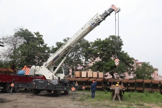 正文      在安全生产月期间,为确保各项设备残体回收的日常吊装安全